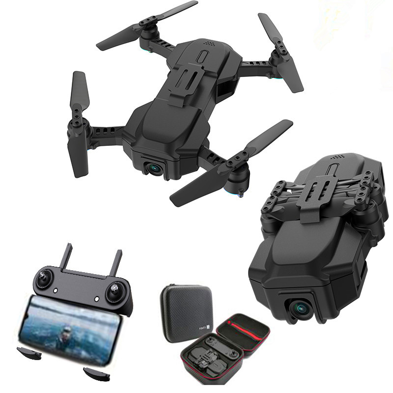 RC Drone Camera WIFI FPV Video Quadcopter Follow Me Drone With Wide Angle Camera HD Professional 4K Drone With GPS VS SG107 S167