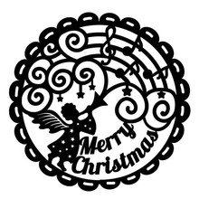 Naifumodo Merry Christams Metal Cutting Dies for Craft Scrapbooking Embossing Stencil DIY Die Cut Card Decoration