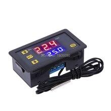 W3230 DC12V 24V AC110V-220V 20A Digital Temperature Controller LED Display Thermostat With Heating/Cooling Control Instrument