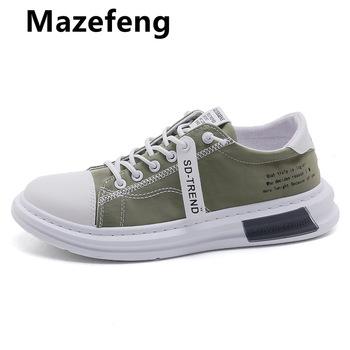 Męskie buty wulkanizowane na płótnie męskie tenisówki koronka-up stałe miłośników buty dla par gumowe płaskie jesień Casual dla mężczyzn buty tanie i dobre opinie Mazefeng PŁÓTNO CN (pochodzenie) Fabric Płytkie Lato AX400 Sznurowane Niska (1 cm-3 cm) Dobrze pasuje do rozmiaru wybierz swój normalny rozmiar
