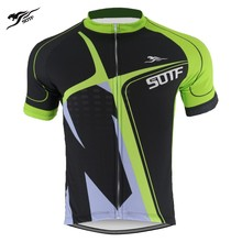 SOTF Green Geometric Breathable Retro Cycling Jersey Short Sleeve Motocross Clothing Road Bike Shirt Men Women cycling Jersey free shipping spartacus men top sleeve cycling jersey polyester bike clothes black breathable cycling clothing size s to 6xl