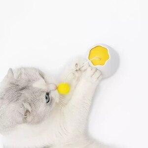 Image 3 - Youpin Furrytail الحركة الإلكترونية القط لعبة التفاعلية القط دعابة متعة على شكل لعب رفرفة الدورية التفاعلية لغز ألعاب الحيوانات الأليفة
