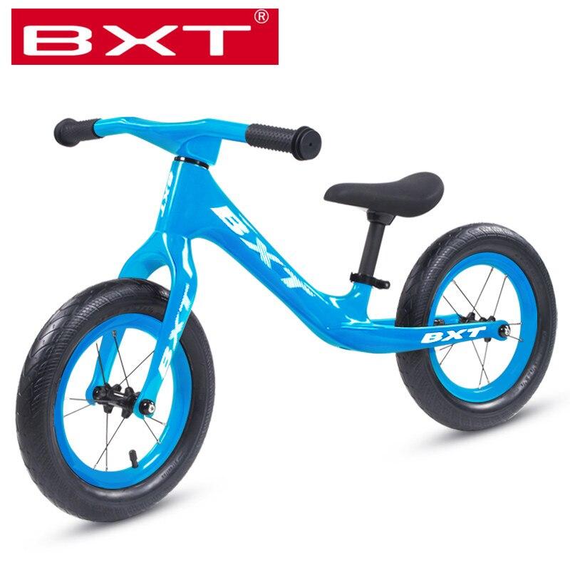 Baby Balance Bike Bicycle Mini Children Walker Toddler Toys Rides No-Pedal White