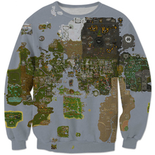 shipping 2018 new Fashion Mens men Long sleeve Sweatshirt Map 3 Casual Pullover