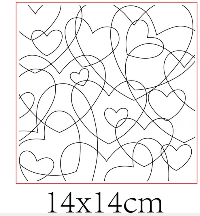 Love Background Transparent Clear Silicone Stamp/Seal For DIY Scrapbooking/photo Album Decorative Clear Stamp Sheets ST0579