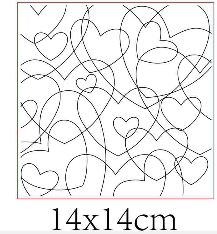 Amor fundo transparente claro silicone selo/selo para diy scrapbooking/álbum de fotos decorativo folhas de carimbo claro st0579