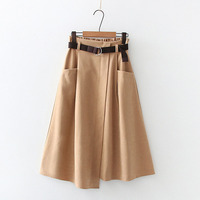 Khaki Skirts
