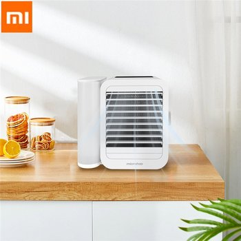 Xiaomi Microhoo 3 In 1 Mini Air Conditioner for home кондиционер длWater Cooling Fan Touch Screen Timing Artic Cooler Humidifier