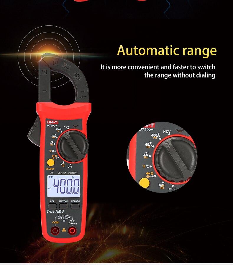 UNI-T UNI T Digital Clampmeter Atual Mini