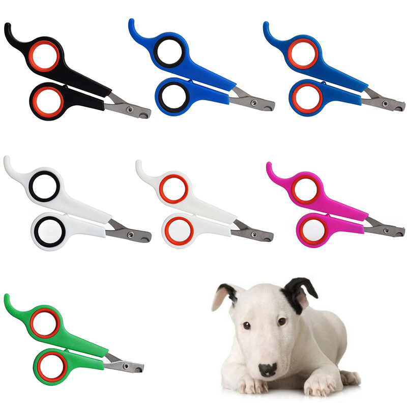 1Pcs Professional 12cm Cat Dog Perros Stainless Steel Nail Clipper Rabbit Bird Animal Nail Clippers Perro Trimmer Cleaning Tool