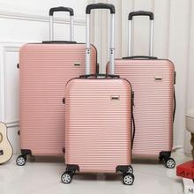 Горячая 20/24/28 дюймов багаж на ролликах Sipnner колеса ABS+ PC бленда для объектива в Для женщин масштабных дорожных чемоданов, мужская мода кабина для ручной клади тележка для багажа