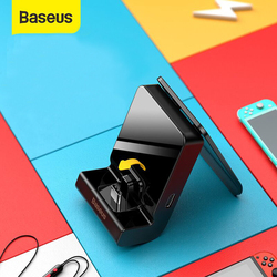 Baseus Dock Station Charger For Nintendo Switch Lite USB Type C Charging Power Adapter Docking Holder Stand For Nintend Switch