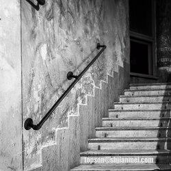 KINMADE настенное крепление промышленный Железный чердак 3/4 трубы перила для лестницы, деревенский черный, прямой стиль 5ft,6.6ft,8ft,10ft,11ft