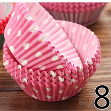 NEW 50PCS Muffins Paper Cupcake Wrappers Baking Cups Cases Muffin Boxes Cake Cup Decorating Tools Kitchen DIY