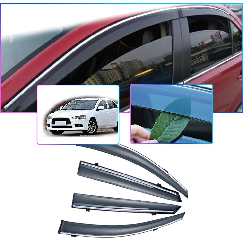 For Suzuki Splash 2008-2015 Side Window Visors Sun Rain Guard Vent Deflectors