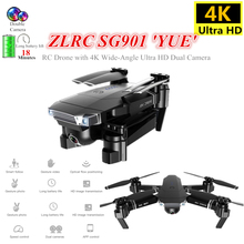 SG901 Quadrocopter with Wide-Angle Camera RC Mini Drone 4K Toys Optical Flow Quadcopter 18mins Battery Life VS XS816 SG106