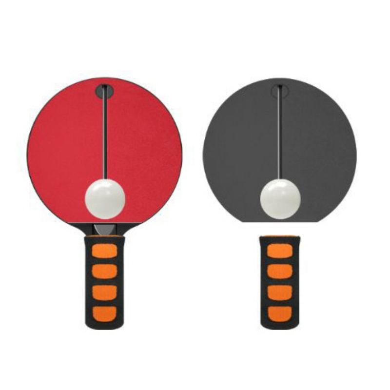 1Pcs Unisex Table Tennis Toys Automatic Rebound Ping-Pong Racket Toy For Release Pressure  Wrist Exercise Self Training