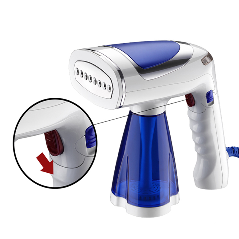 2020 New Folding Handheld Hanging Ironing Machine 1600W Small Portable Steam Iron Travel Tempering Ironing Machine