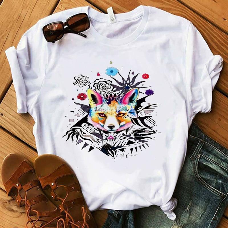 Vogue, женская футболка, макияж, коллекционная губная помада, Приморский стиль, футболка, 100% хлопок, летняя женская рубашка, птица, Сова