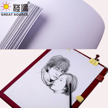 4K Pencil Sketch Paper Art Drawing Paper Pure Wood Pulp Paper 160g Painting Paper(20 sheets) paper art кролик