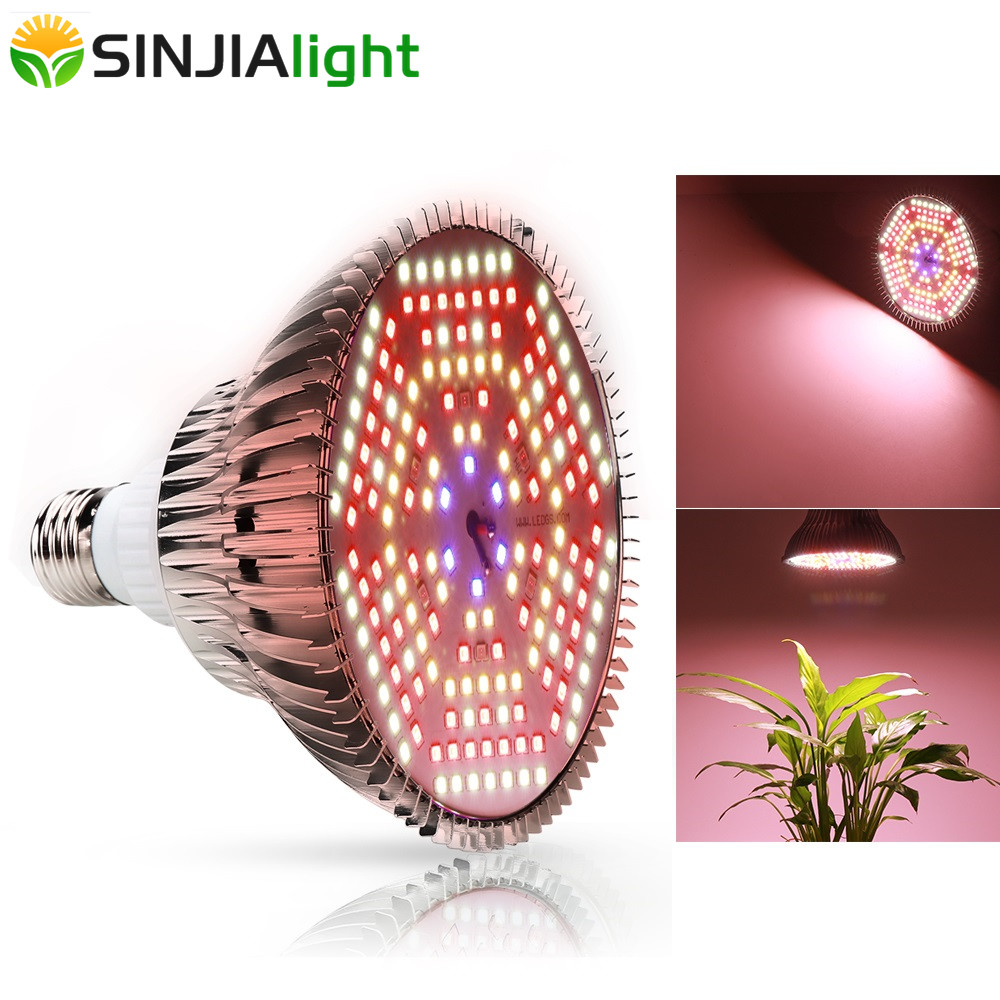 120W Full Spectrum LED Grow Light 180LEDs Plant Lamp Fito Led Bulb For Plants Aquarium Flowers Garden Vegs Greenhouse E27