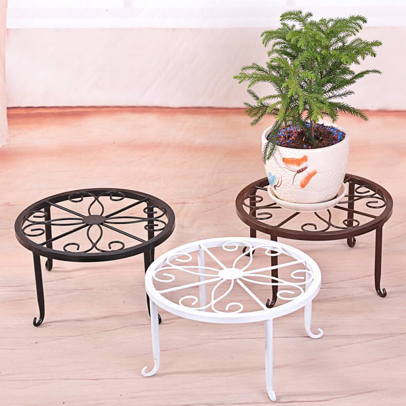 Landing Type Monolayer Iron Dwarf Flower Airs Balcony A Living Room Flowerpot Shelves Simplicity Green Luo Small Flower Rack