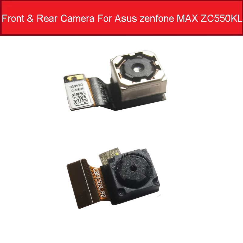 100% Small And Big Original Front & Rear Camera For ASUS ZC550KL Back Camera For Zenfone 5 Main Camera Flex Cable Replacement