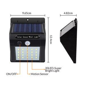 Image 5 - Luminária led portátil para parede, sensor de luz solar, para acampamento, barraca, lanterna led noturna, para jardim, para estrada, à prova d água, para áreas externas