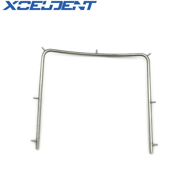 1pcs Dentistry Clinic Stainless Steel Rubber Dam Frame Holder Instrument Autoclavable For Dental Lab Supplies