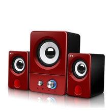 Eweadn компьютерная Колонка usb Проводная s 3d стерео звук объемный