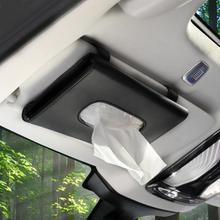 Napkin-Holder Car-Visor-Tissue-Tissue-Boxes Hanging-Paper Backseat-Tissue-Case Towel-Clip
