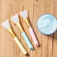 1pc מקצועי איפור מברשות פנים מסכת מברשת סיליקון ג ל DIY קוסמטי יופי כלים Brochas Para Maquillaje