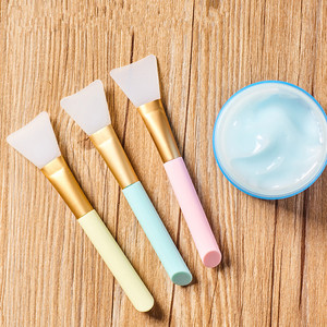 Image 1 - 1pc Professional Makeup Brushes Face Mask Brush Silicone Gel DIY Cosmetic Beauty Tools Brochas Para Maquillaje