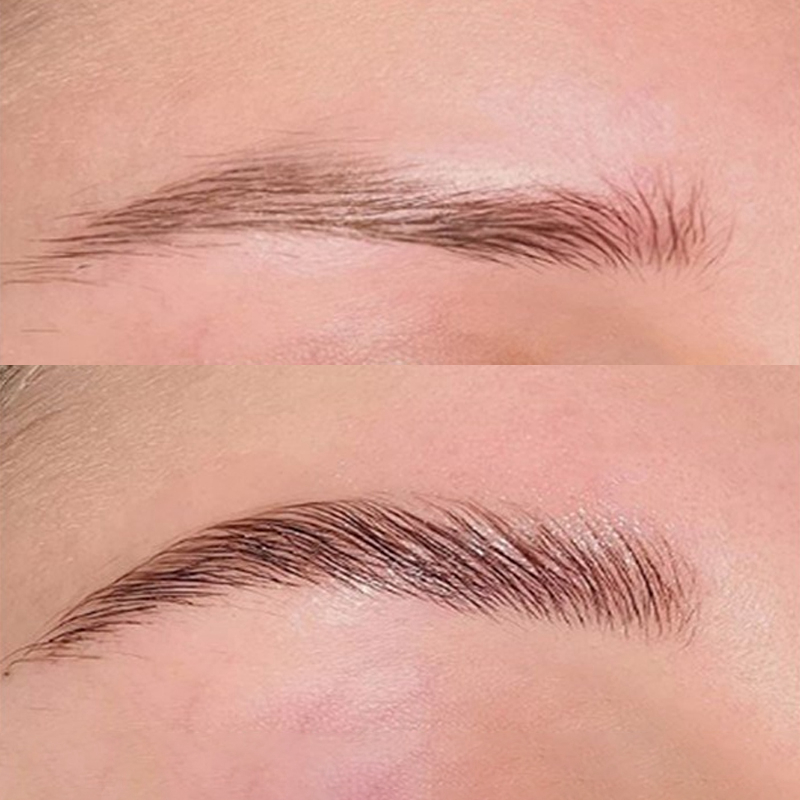 3D Eyebrow Extensions Gel Waterproof Natural Brow Hair Fiber Hair Tint Eye Brow Cream Tattoo Makeup Cosmetic