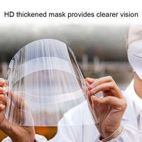 2020 hohe definition Transparente Schutzhülle Kappe Anti Speichel Splash Sommer Anti droplet Maske Gesicht Winddicht Sonnenblende hut Neue-in Helme aus Kraftfahrzeuge und Motorräder bei