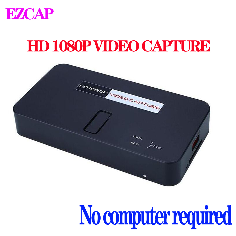 EZCAP 284 1080P HD Video Capture Live Game Recorder For XBOX PS3 PS4 TV Medical online Video Live Streaming Video Recorder image