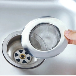 LINSBAYWU Stainless Steel Bathtub Hair Catcher Stopper Shower Drain Hole Filter Trap Kitchen Metal Sink Strainer