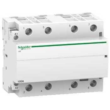 SE Acti 9 modular Contactor iCT100A 4НО 220/240 V AC A9C20884