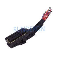 Bosch EFI 전자 제어 시스템 용 89PIN EDC7 ECU 보드 배선 커넥터 소켓 플러그
