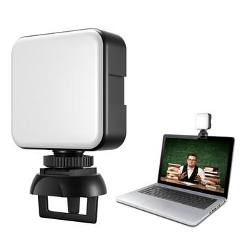 SOONPHO видеоконференции 5600K светодиодный видео светильник куб портативный компьютер веб камеры светильник с переменным фокусным расстоянием вызова светильник ing с зажимом для прямые трансляции|Фотографическое освещение|   | АлиЭкспресс