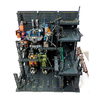 46 x 49 x 31cm DIY Hangar Garage Model Display Base for Gundam PG MG HG RG Model Building Kits (without Mecha)