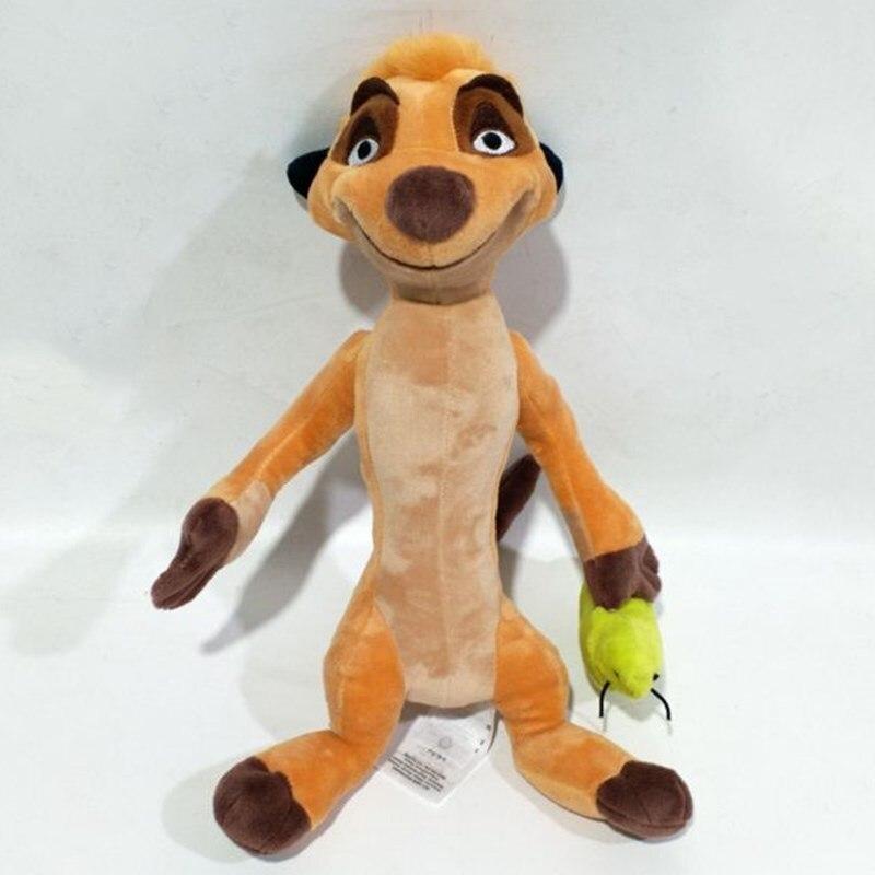 Original DISNEY Anime The Lion King TIMON Plush Stuffed Plush Toy Animals Dolls 30cm