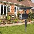 Рождественский лазерный светильник на солнечных батареях проектор Рождественский газон пейзаж Лазерная лампа с 4 изображениями для украше...