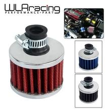 WLR RACING-Универсальный Супер Мощный воздушный фильтр 51*51*40 горловина: 12 мм Высокое качество авто воздухозаборник фильтр для автомобиля WLR-AIT12