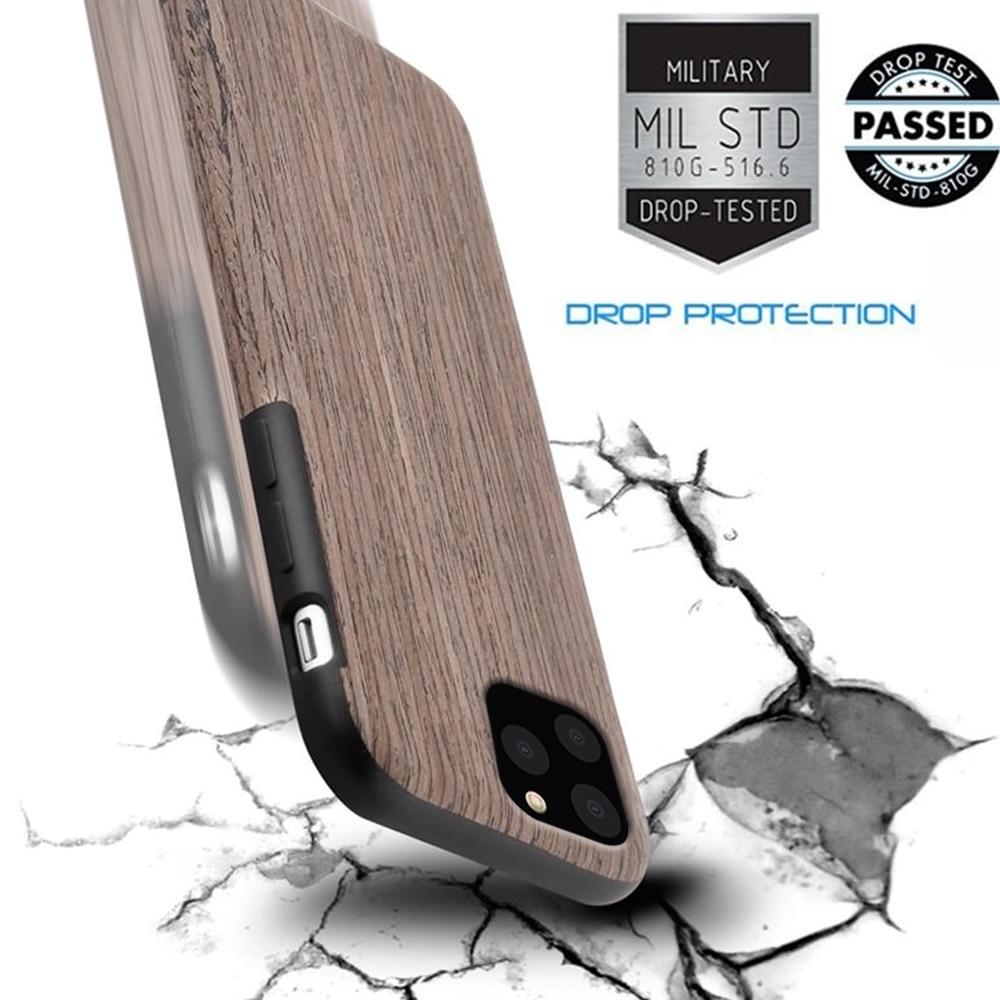 LAPOPNUT Case for Iphone 11 Pro Xs Max Xr X 7 8 Plus 6 6s 5 LAPOPNUT Case for Iphone 11 Pro Xs Max Xr X 7 8 Plus 6 6s 5 5s SE Apple Wood Grain Flexible TPU Silicone Hybrid Slim Cover Coque