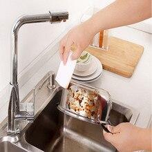 45 шт белая волшебная губка Ластик уборка меламиновая пена очиститель кухонная накладка кухонные аксессуары меламиновая губка для мытья Горячая