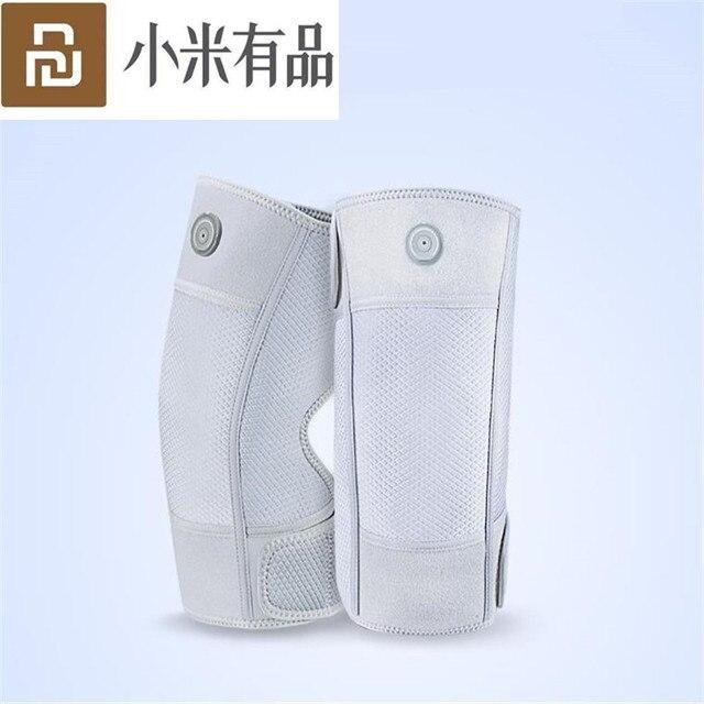 חדש מקורי Xiaomi Mijia PMA הברך Pad 5V אינפרא אדום גרפן חימום מגן הברך ספורט כאב הקלה רגל שרוולים הברך הילוך