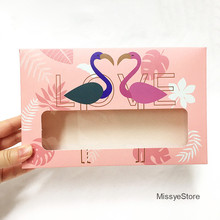 MissYe Store 5pcs DIY flamingo pink  christmas socks gift Packaging paper Gift box For Wedding home party bags wrapping