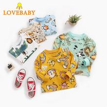 2019 New Children Tops Boy Girl T-shirts Spring&Autumn Baby Clothes Cotton Toddler Long Sleeve Tops Chemise Femme Manche Longue 2019 hot sale spring women shirts tops long sleeve bow collar solid ladies chiffon blouse tops ol office style chemise femme
