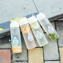 Glass Water Bottle  400 mlHydro Flask Tea Crystal Cute Brief Juice School Bottles